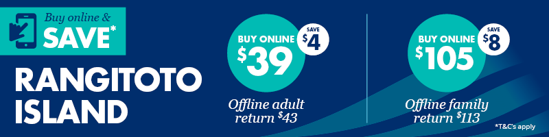 Rangitoto Island online deal - Fullers360